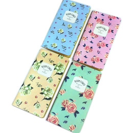 scratch book 2019 - 12pcs lot Retro fresh fruit jasmine flower 48K lined notepad drawing of Daily Book Journal scratch Office material Suppl