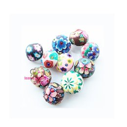 $enCountryForm.capitalKeyWord NZ - 20mm Snap Jewelry Polymer Clay Snap Buttons For Bracelet Jewellery