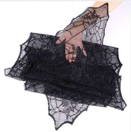 $enCountryForm.capitalKeyWord NZ - Halloween Party Decoration Black Leaf Table Runners for Party 188*55cm Tablecloth Haunted House Halloween Decorations for Home