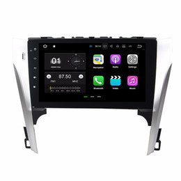 "touch screen toyota NZ - 1024*600 Android 7.1 Quad Core 10.1"" Car DVD Car Radio GPS Head Unit for Toyota Camry 2012 2013 With 2GB RAM Bluetooth WIFI Mirror-link"