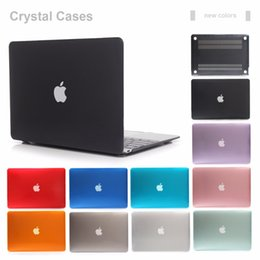 $enCountryForm.capitalKeyWord Australia - Front and Back Plastic Crystal Cover Case for Macbook Air Retina Pro 11 12 13 15 inch
