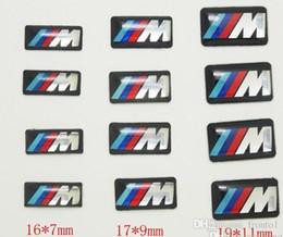 Car Logo Badges NZ - 100pcs Tec Sport Wheel Badge 3D Emblem Sticker Decals Logo For bmw M Series M1 M3 M5 M6 X1 X3 X5 X6 E34 E36 E6 car styling stickers