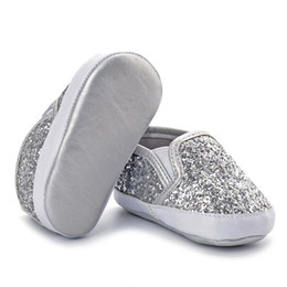 canvas slip shoes for kids 2019 - casual baby kids shoes cute toddler chidren shoes cool bling for baby light sandals girls chaussure fille 4ST20 cheap ca