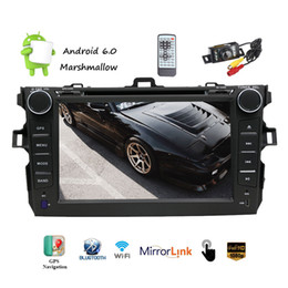 $enCountryForm.capitalKeyWord Canada - Backup Camera Android 6.0 for Toyota Car DVD Player 7''Capacitive Touchscreen Double Din Car Stereo GPS Navigation In Dash Bluetooth AM FM
