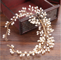 Hair For Weddings Hairstyles NZ - Wedding Hair Pieces Flower Headbands Hairstyles Bridal Headpieces for Women Hair Accessories Fascia Capelli Accessoire Cheveux Wholesale