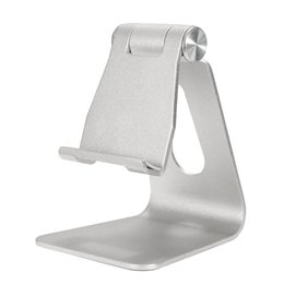 Universal Aluminum Table Desk Mount Stand Holder Cradle for Tablet Mobile Phone