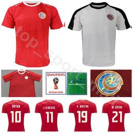 cc113ad4bc4 2018 World Cup Costa Rica Soccer Jersey Men 21 URENA 19 WASTON 7 BOLANOS 13  WALLACE GAMBOA Football Shirt Kits National Custom Name Number