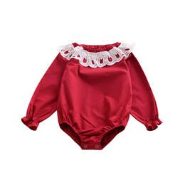 ins baby peleles de encaje ahueca hacia fuera los monos caen las tapas de  manga larga para niños otoño fábrica de ropa de navidad barato B61 653042e7abbb