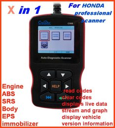 $enCountryForm.capitalKeyWord Canada - 2018 Professional for HONDA ACURA code reader scanner diagnostic tools ABS SRS EPS engine multi-system replace H685 with DHL free Shipping