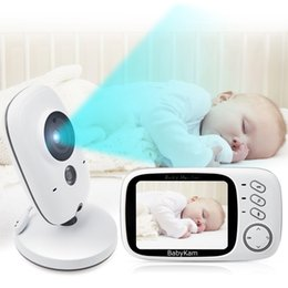 Color seCurity Camera night vision online shopping - 3 inch LCD Wireless Video Baby Camera Monitor Night Vision Nanny Security Camera Temperature Monitoring VOX Babysitter