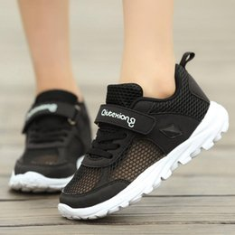 $enCountryForm.capitalKeyWord NZ - Summer Breathable Mesh Children Shoes Single Net Cloth Kids Sports Shoes Casual Boys Shoes Girls Sneakers Size 28=36