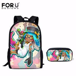 dce6d52998ca Backpacks Teens NZ - wholesale Fashion School Bag Splatoon 2 Printed  Children Book Bag for Girls