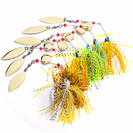 $enCountryForm.capitalKeyWord Australia - 6 Pcs Assorted Fishing Tackle Spoon Sequins Lures Spinner Buzz Bait Perch Bass