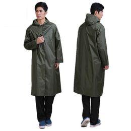 $enCountryForm.capitalKeyWord NZ - High Quality Long Rain Coat Men Women Rainsuit Windproof Outdoor Fishing Tour Rainwear Camp Poncho waterproof traval Raincoat