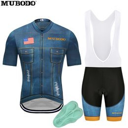 Usa Cycling Jerseys Australia - MUBODO 2018 Cycling Jersey Denim Bicycle  Men s Ropa Ciclismo Hombre Mountain cc224c736