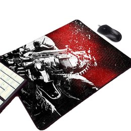 China Mairuige Gears of War Series Hot Games Warriors Cool Pattern Logo Printed Mousepad Mini Pc Computer Gamer Gaming Mouse Pad cheap gear wars suppliers