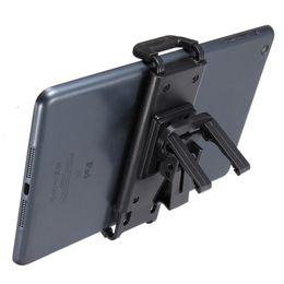 car mount tablet pc holder 2019 - Wholesale-New ABS Black 120~165mm Adjustable Universal Car Air Vent Tablet Mount Holder Stand Bracket For Tablet PC Fit