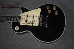 guitar custom shop black Australia - Best High Quality hot selling Factory custom shop style Ace black guitar high 3 pickups Electric Guitar free shipping