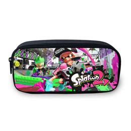 $enCountryForm.capitalKeyWord UK - VEEVANV Splatoon 2 New 3D Printing Girls Pencil Case Women Portable Pen Bag Children School Organizer Wallets Cartoon Coin Purse