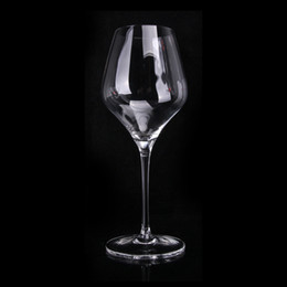 Led Crystal Bubble Australia - European Handmade Transparent Small Size Goblet Wine glass Bordeaux Bubble Originality transparent Lead-free Crystal Glass