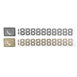 Diy metal car online shopping - Reflective DIY Phone Number Cards Car Parking Signs Notices Metal Temporary Parking Card Car Sticker Universal Auto Accessories