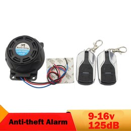 Discount yamaha remote control - 125dB Motorcycle Alarm Anti-theft Security System Remote Control moto Alarm Speaker for   Yamaha KTM