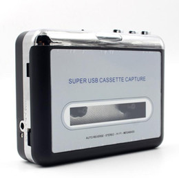 С оригинальной розничной коробке EZCAP Портативный USB кассетный плеер захвата кассетный магнитофон конвертер цифровой аудио музыкальный плеер MP3