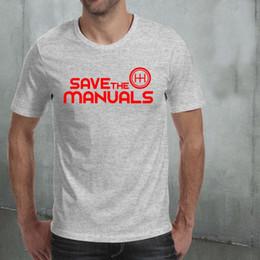 $enCountryForm.capitalKeyWord Australia - 2018 Brand New Men Clothing Fashion Men'S T Shirts T-Shirt Save The Manuals Of Automatic Car Car Gear Box Tee shirt Design