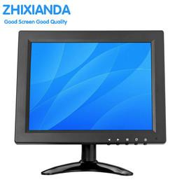 2018 la nueva pantalla de inicio del juego de escritorio de 9.7 pulgadas 1024 * 768 monitorea HDMI / BNC / VGA / AV / interfaz USB para envío gratis
