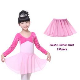 Baby Pettiskirts Tutus Australia - Summer Chiffon Baby Girls Kid Tutu Skirt Pettiskirts Party Ballet Dance Tulle Skirt