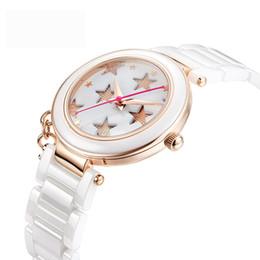 3c00118fb77 New Ceramic Watches Woman Quartz Watch Ladies Fashion Watches Female  Bracelet Watch Top Brand Luxury Waterproof