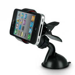 $enCountryForm.capitalKeyWord UK - Car phone stand GPS Cellphone Holder For Car, Mini ABS Mobile Phone Support, Silicone Sucker Type GPS Holder