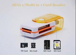 Duo reaDer online shopping - All in USB Multi Memory Card Reader Adapter Connector For Micro SD MMC SDHC TF M2 Memory MS Duo RS MMC