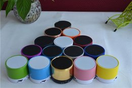Speaker Mic For Iphone Australia - 2018 New S10 Wireless Mini Speaker Bluetooth HiFi with MIC For iphone 5 htc samsung S4 I9500 mobile Colorful Free Shipping 50pcs lot
