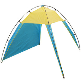 Wholesale 210 cm Outdoor Camping Sun Shelter Shade Beach Tent for Summer Holiday Fishing Swimming Boat Fishing Roof Tent Person