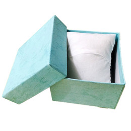 $enCountryForm.capitalKeyWord NZ - Watch Boxes Paper Cardboard With Pillow Storage Case Box Colors Jewellery Gift Box