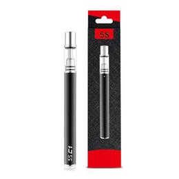 Desechable Vape Pen 350mAh batería O Pen Vape 5S Vape Pen Vaporizador Cartucho 5S C1 C2 .3ml .5ml Lápices de vapor