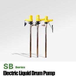 Oil Barrel Drum Canada - SB-2-1 110L Min AC electric barrel pump chemical drum pump oil rotary drum pump