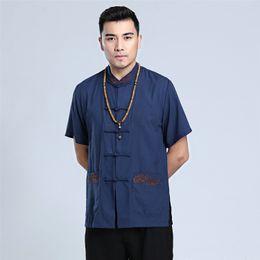 Linen kung fu shirt online shopping - Shanghai Story man Kungfu Top Chinese Style Top Kung Fu Shirt Traditional Men s Clothing Chinese top