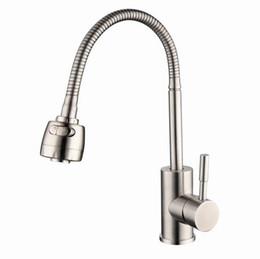 304 torneira da cozinha de aço inoxidável Quente e Fria Vegetal Bacia Torneira Misturadora Universal torneira torneira da pia torneira torneira