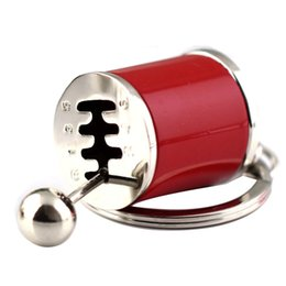 Chinese  Metal AntiStress toy Creative Car 6 Speed Gearbox Gear Fidget Keyring Shift Racing Tuning Model Keychain Novelty Car manufacturers