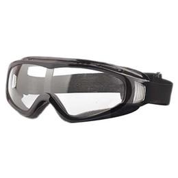 30aa5fb457 Gafas Paintball Clear Glasses Protección contra el polvo del viento para la  motocicleta de la bicicleta Negro Accesorios de ciclismo Safety Eye Protect