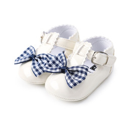 $enCountryForm.capitalKeyWord NZ - 8 Style Newborn Baby Girl Fashion Butterfly-kont Shoes PU Leather Buckle Strap Toddlers For 0-18M Baby First Walkers