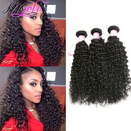 Brazilian Human Hair Wholesale Prices Australia - Wholesale Price 9A Brazilian Virgin Hair Deep Wave Unprocessed Brazilian Deep Curly Wave Human Hair Extensions Deep wave Hair 3Pcs lot