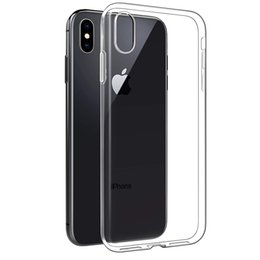 $enCountryForm.capitalKeyWord Australia - Ultra Thin Transparent Soft TPU Case for iPhone XsXr Max X 8 7 6 6S Plus 5S Slim Clear Protective Silicone back Cover