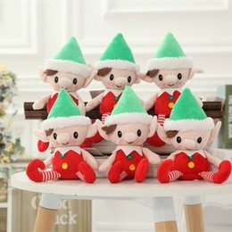 $enCountryForm.capitalKeyWord NZ - Originality Lovely Plush Toys Christmas Elves Santa Deco Gift Cartoon Stuffed Doll Toy For Kids New Pattern 9lj WW