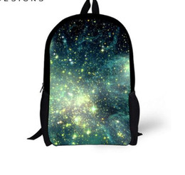 Discount space backpacks - Schoolbag for Teenager Girls 3D Galaxy Space Star Prints Children School Bags Boys Shoulder Book Bag Mochila Escolar