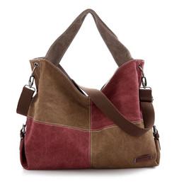 $enCountryForm.capitalKeyWord UK - women Contrast color stitching travel organizer shoulder bags handbag women canvas tote bag ladies bags brands totes sac a main