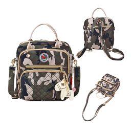 Multi Function Handbag Backpack NZ - Baby Backpack Nylon Nappy Bag for Moms High Quality Waterproof Mummy Handbags Multi-function Travel Backpack Diaper Bag for Baby