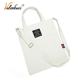 $enCountryForm.capitalKeyWord Canada - Bags for Women 2018 Totes Women's Handbag Shoulder Bag Casual Solid Color Canvas Shopping Bag Female Student Girls Crossbody